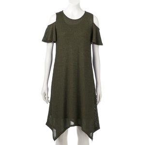 Apt 9 Cold Shoulder Dress
